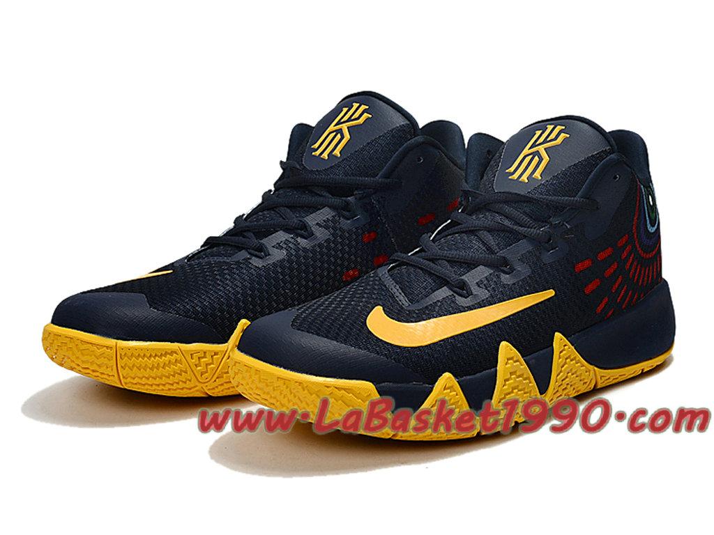 Nike Basketball Kyrie 4 Chaussures de Basketball Nike Pas Cher Pour Homme Noir e53162