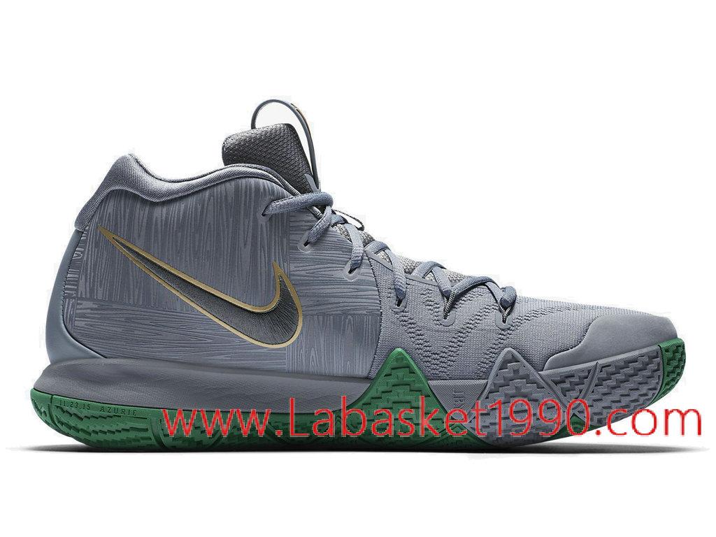 size 40 b7411 997b6 ... Nike Kyrie 4 City Guardians 943806-001 Chaussures de BasketBall Pas  Cher Pour Homme Gris ...