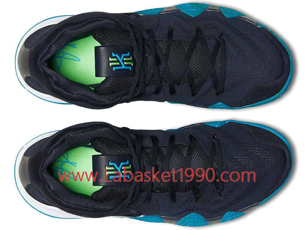 huge selection of 500d9 9472d ... Nike Kyrie 4 Obsidian Chaussures Nike Prix Pas Cher Pour Homme Noir  Bleu 943806-401 ...
