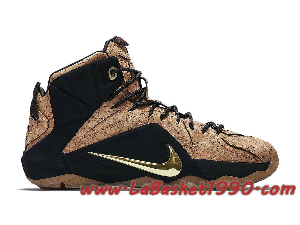 premium selection d45e1 45191 Nike Lebron 12 768829-100 Men´s Nike Basketball Shoes Black Brun