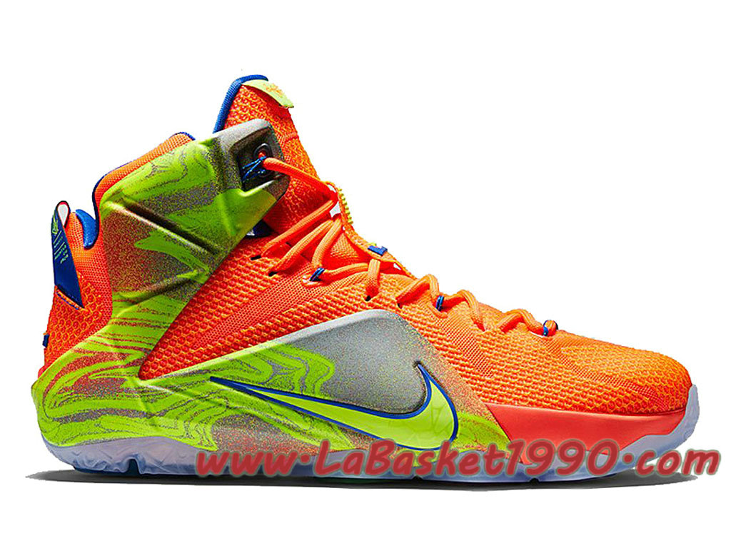 815206909a78 Nike Lebron 12 SIX Meridians 684593-870 Men´s Nike Basketball Shoes Orange