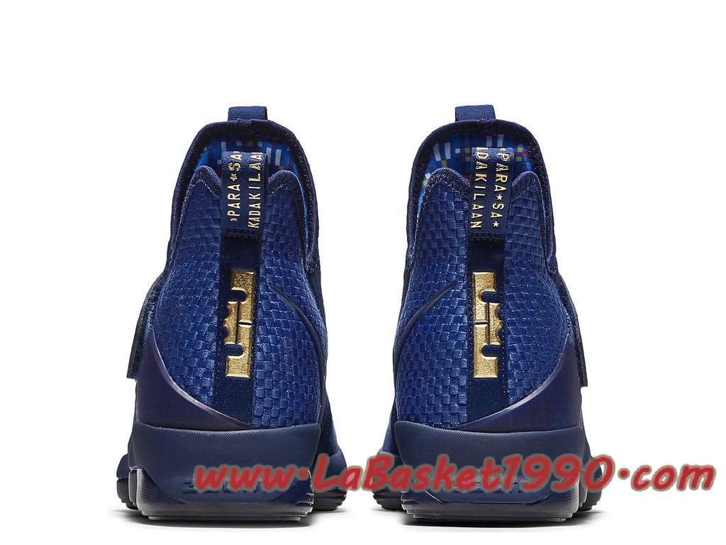 972f46eeec216 Nike LeBron 14 LMTD EP 852403-400 Chaussures Nike Basket Pas Cher Pour  Homme Bleu Noir-1709160144-Chaussure Basket Homme Nike   Nike Officiel Site!