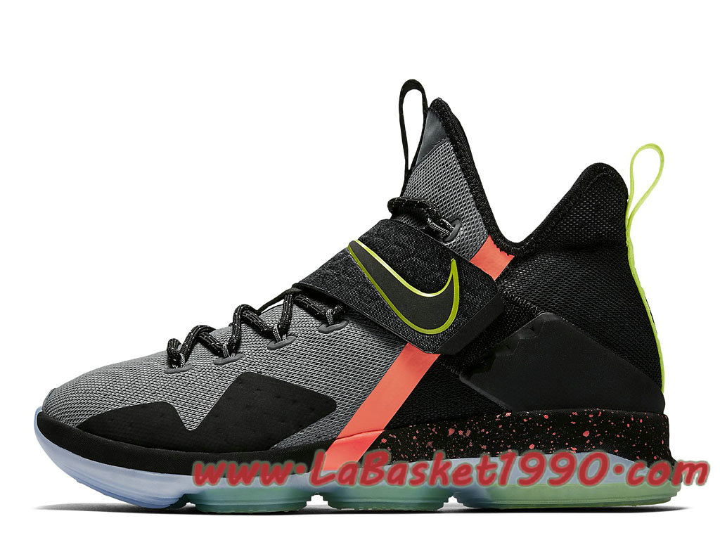 hot sale online 424cc 3353c Nike LeBron 14 Out Of Nowhere 852406-001 Chaussures Nike Basket Pas Cher  Pour Homme