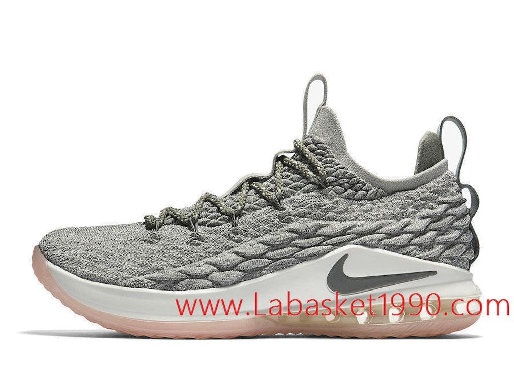 Basket Nike LeBron 15 Cool Gris 897648_ID4 Chaussures nike