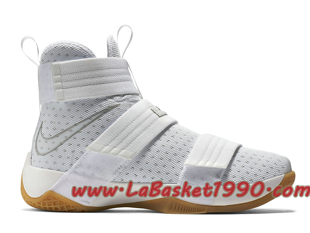 various colors e05fc df313 Nike LeBron Soldier 10 Strive for Greatness 844379 101 Men´s Nike  Basketball Shoes White Brun