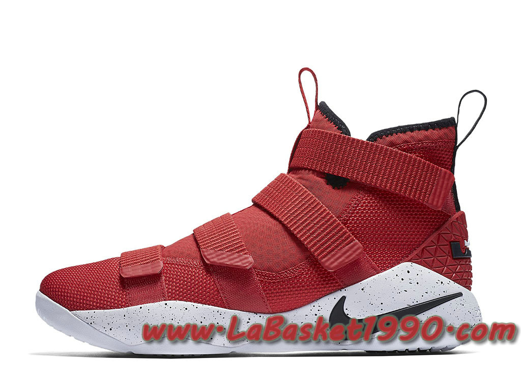 2b4aafd6420f9 Nike Lebron Soldier 11 University Red 897644-601 Men´s Nike Basketball  Shoes Red ...
