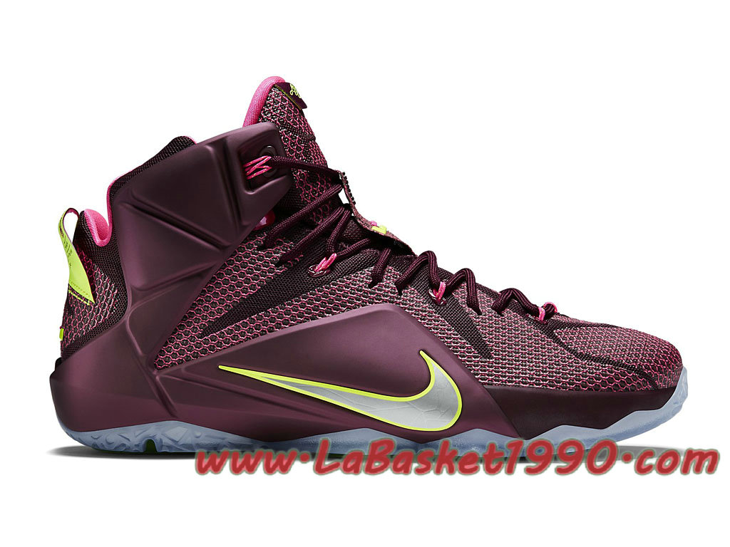 Nike Lebron XII 12 684593 607 Chaussures Nike Basket Pas