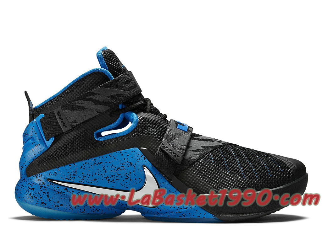 size 40 095f0 375d5 Nike Lebron Zoom Soldier 9 749490_014 Men´s Nike Basketball Shoes Black Blue