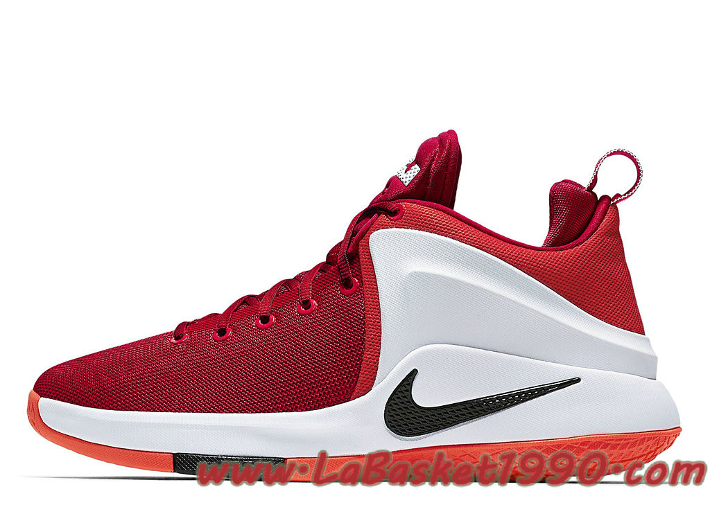 competitive price 18fed bf667 Nike LeBron Zoom Witness 852439 103 Men´s Nike Basketball Shoes Red White
