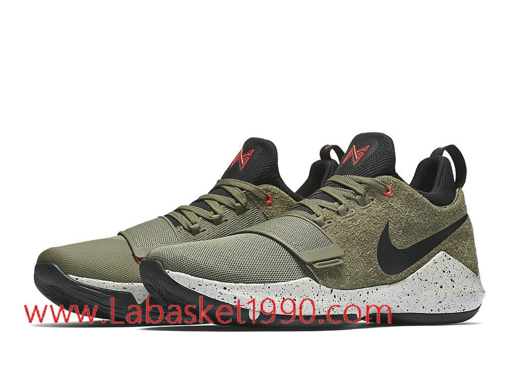 Homme Nike Chaussures De Pg Vert Pas Basketball Elements Cher 1 Pour OPzSrgqnO