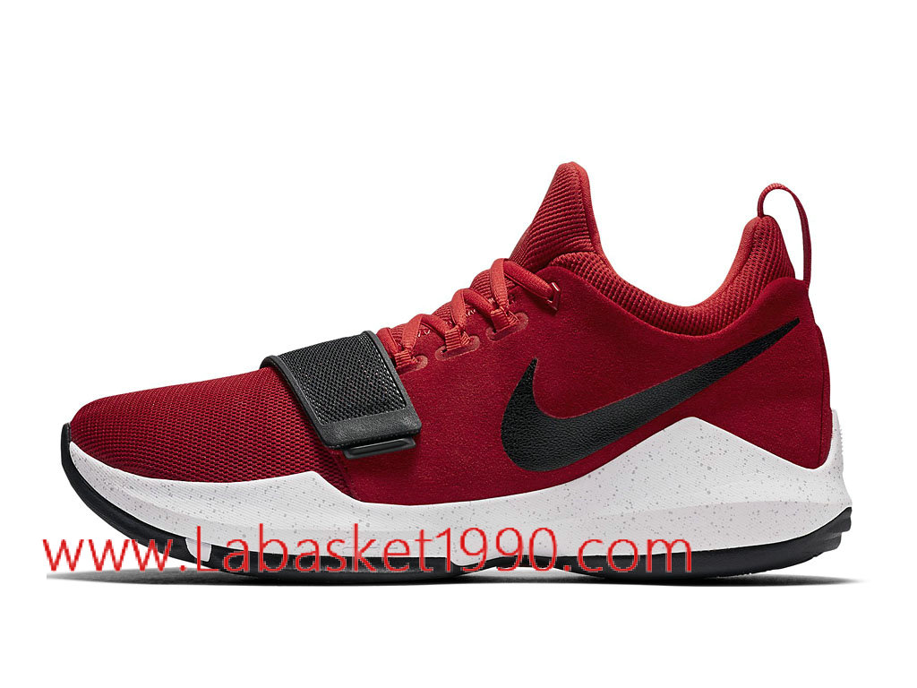 uk availability aa012 081a8 Nike PG 1 University Red Men´s Nike BasketBall Shoes Red Black 878628 602