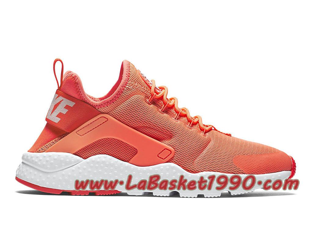 watch d01c5 5e8d2 Nike WMNS Air Huarache Ultra 819151 800 Chaussures Nike Huarache Pas Cher  Pour Femme Enfant Orange