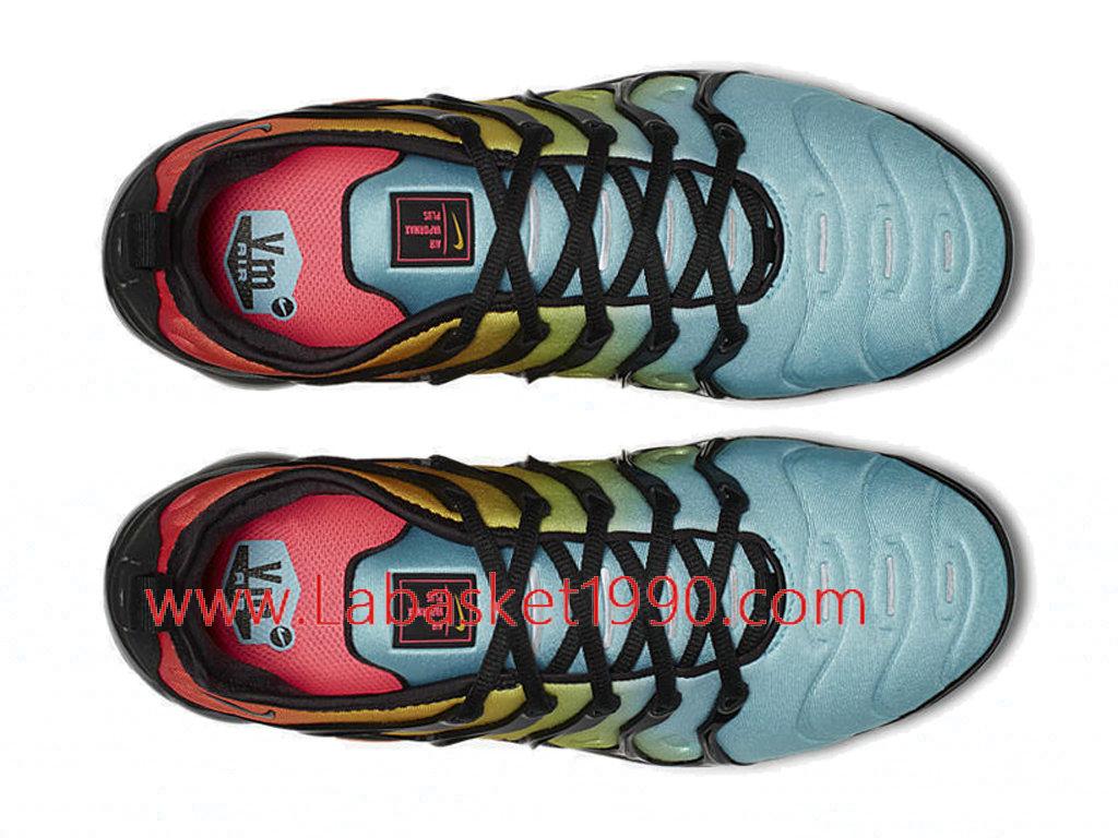 3c19a4a2c04 ... Nike WMNS Air VaporMax Plus Chaussures Nike 2018 Pas Cher Pour Femme Enfant  Vert Noir ...