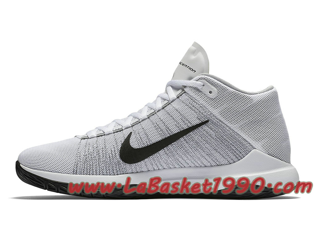 Nike Zoom Ascention 832234_100 Chaussures de BasketBall Pas