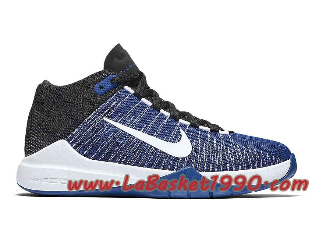 Nike Zoom Ascention 834319_400 Chaussures de BasketBall Pas