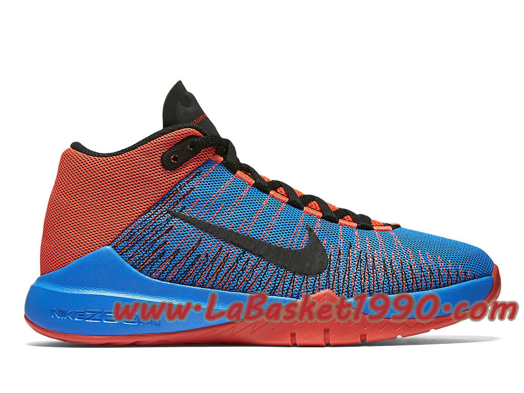 large discount quality release date: Nike Zoom Ascention 834319_600 Chaussures de BasketBall Pas ...