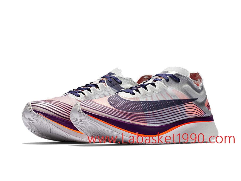 new style 0bc56 732fc ... Nike Zoom Fly SP Neutral Indigo Chaussures Officiel Prix Pas Cher Pour  Homme Noir Rose AA3172 ...