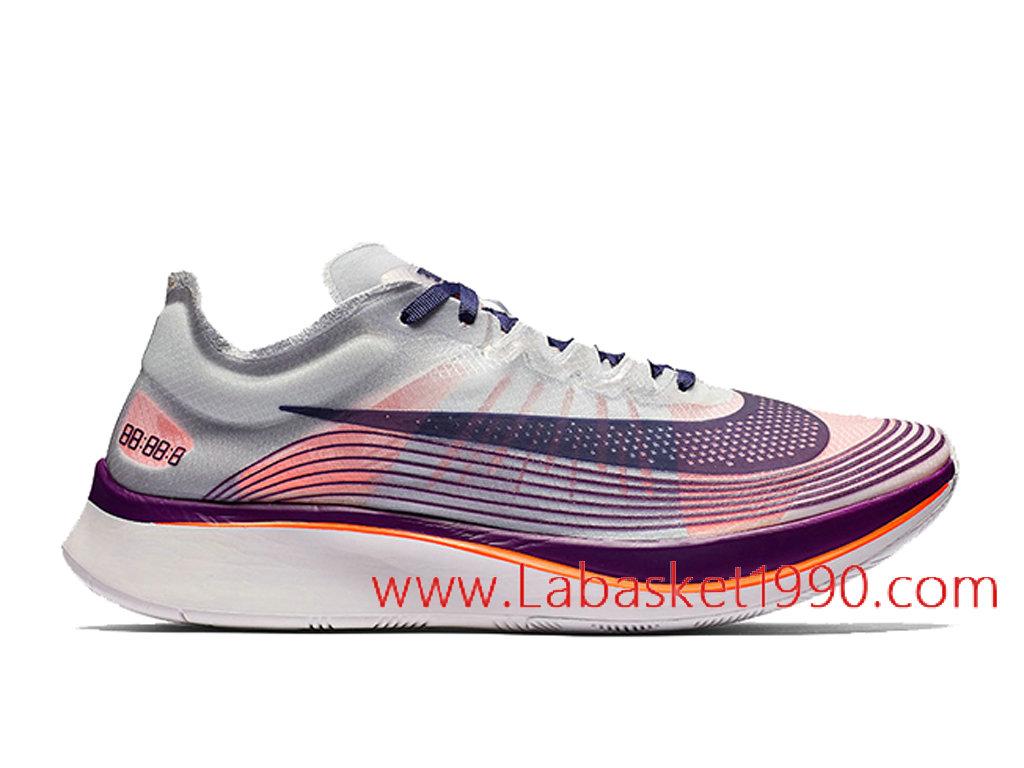 best website f32e7 9291a Nike Zoom Fly SP Neutral Indigo Chaussures Officiel Prix Pas Cher Pour  Homme Noir Rose AA3172 ...