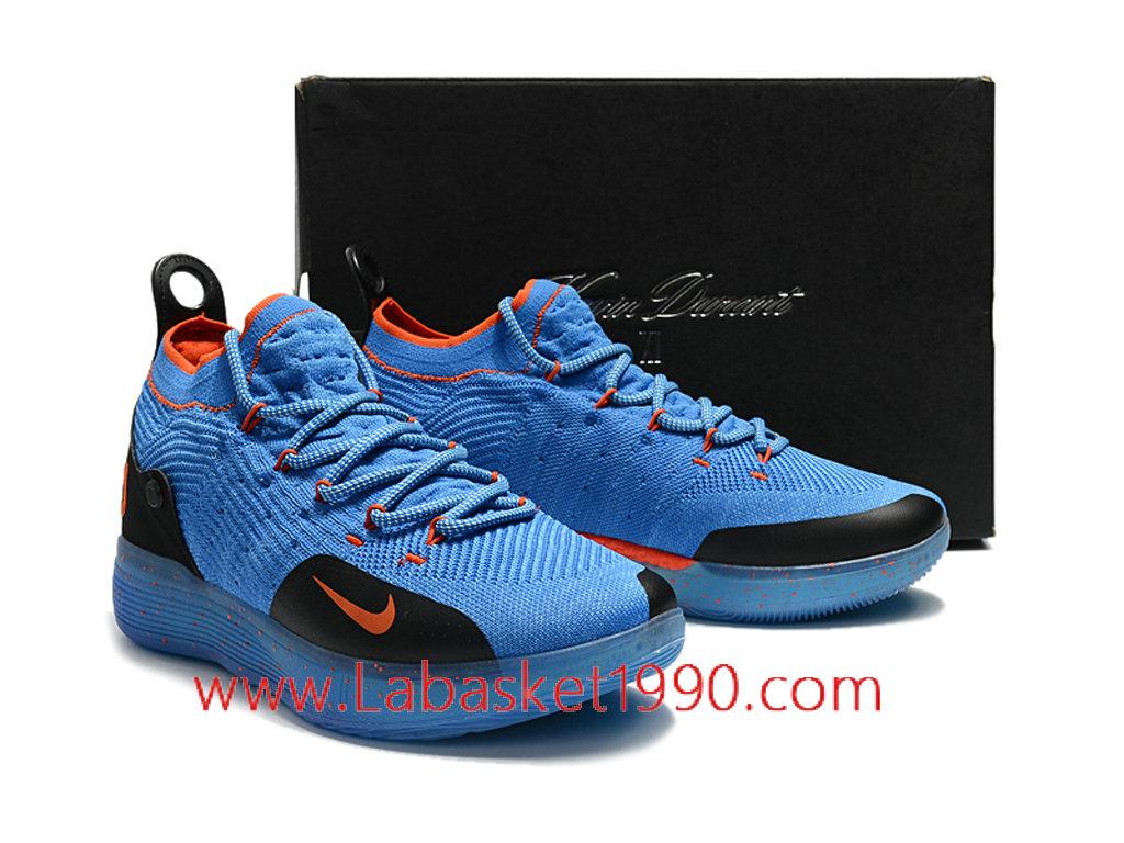 Nike Pas Zoom Kd 11 Ep Chaussures De Basketball Pas Nike Cher Pour Homme Bleu 252139