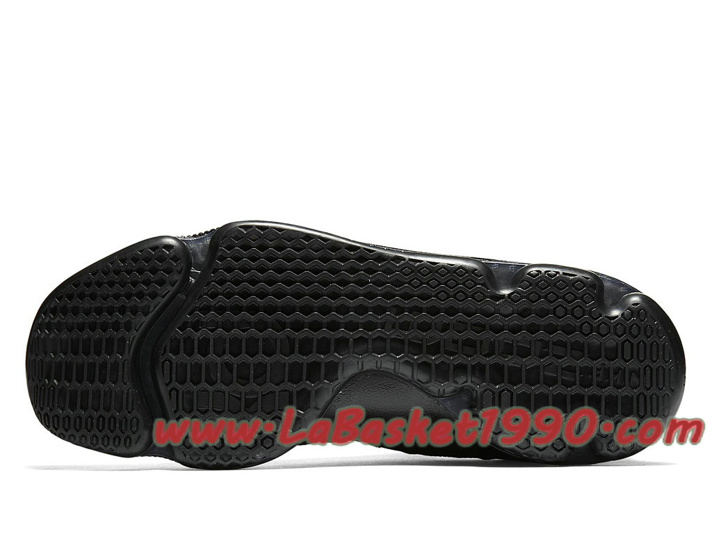 new product 9c548 77abf ... Nike Zoom KD 9 Triple Black 843392-001 Chaussures Nike Basket Pas Cher  Pour Homme