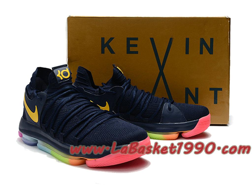 Nike Zoom KD10 EP GS Chaussures de Basket Pas Cher Pour Femme Noir Rose 1710260381 Chaussure Basket Homme Nike   Nike Officiel Site!