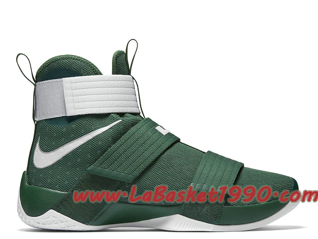 superior quality 4d60e ed165 Nike Zoom LeBron Soldier 10 Team 844380_301 Chaussures Nike Basket Pas Cher  Pour Homme Vert Blanc-1711050440-Chaussure Basket Homme Nike | Nike ...