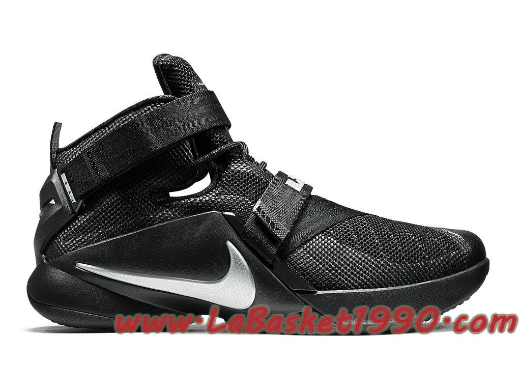 timeless design 939f7 f177f Nike Zoom LeBron Soldier 9 749417-001 Men´s Nike Basketball Shoes Black  White