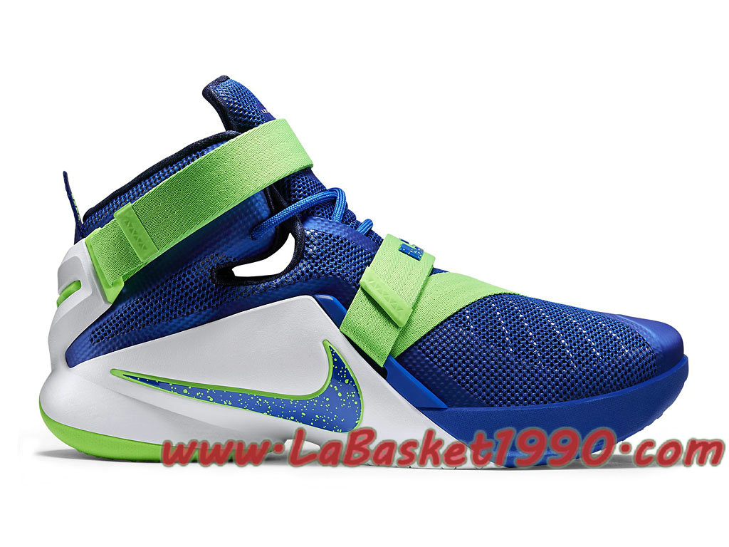 c92d6634be1 Nike Zoom LeBron Soldier 9 749417-441 Men´s Nike Basketball Shoes Blue Green