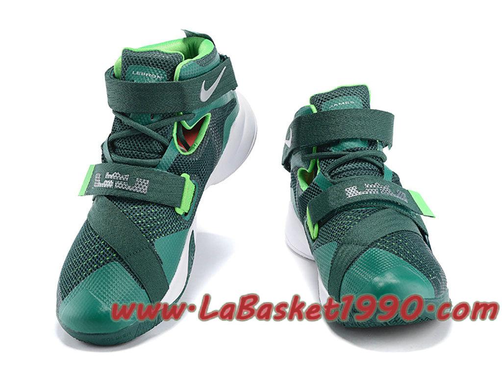 6670daf58257 ... wholesale nike zoom lebron soldier 9 749498 301 mens nike basketball  shoes green white 216e0 5421c