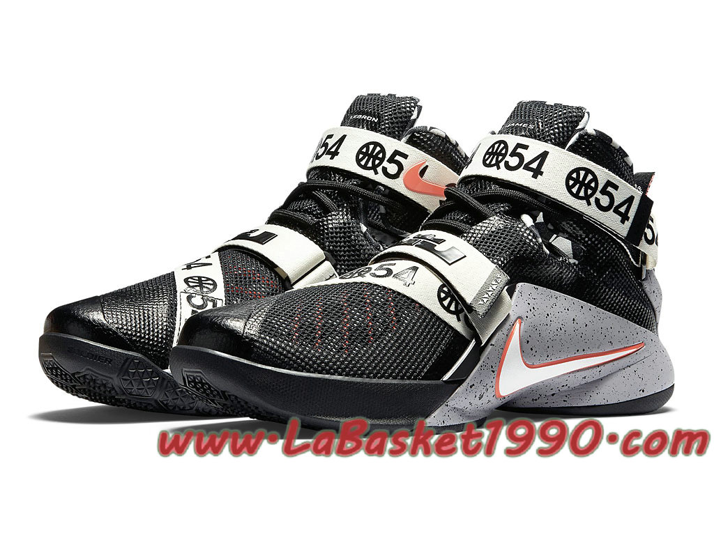 quality design 72225 64471 ... Nike Zoom LeBron Soldier 9 LMTD 810803-015 Chaussures Nike Prix Pas  Cher Pour Homme ...