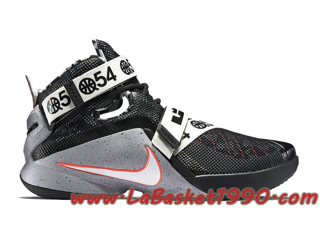 superior quality 77e5b 49569 Nike Zoom LeBron Soldier 9 LMTD 810803-015 Chaussures Nike Prix Pas Cher  Pour Homme ...