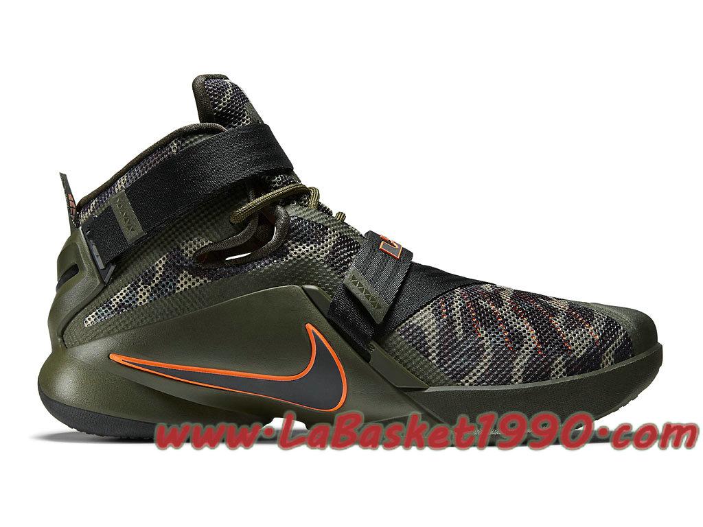 Nike Zoom LeBron Soldier 9 Premium Camo 749490-303 Chaussures Nike Basket  Pas Cher Pour 71efe9a7736a