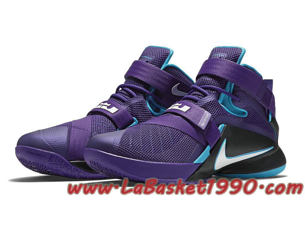 sale retailer fc8f7 dbc33 ... Nike Zoom LeBron Soldier 9 Premium Summit Lake Hornets 749420-510 Men´s  Nike ...
