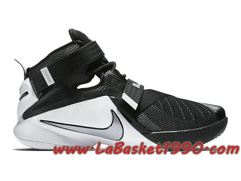 96aadfb7c22 Nike Zoom LeBron Soldier 9 TB 749498-001 Men´s Nike Basketball Shoes Black