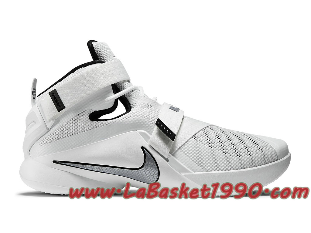 108e858f9aa Nike Zoom LeBron Soldier 9 TB 749498-100 Men´s Nike Basketball Shoes White