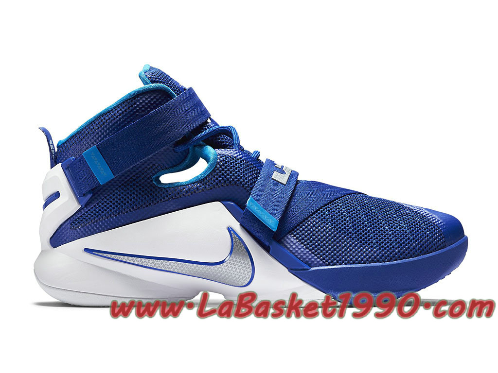 3cf312c848e Nike Zoom LeBron Soldier 9 TB 749498-401 Men´s Nike Basketball Shoes Blue