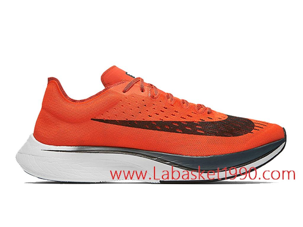 finest selection 88d6f d3f15 Nike Zoom Vaporfly 4 Chaussures Officiel 2018 Pas Cher Pour Homme Rouge  Noir 880847-600