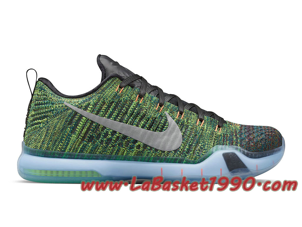 quality design 4b230 76513 NikeLab Kobe 10 Elite Low HTM Racecar 805937-901 Chaussures Nike Basket Pas  Cher Pour