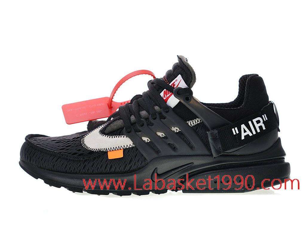 big sale ae0d7 e7c7f Off White x Nike Air Presto 2.0 AA3830-002 Chaussure de Running Pas Cher  Pour