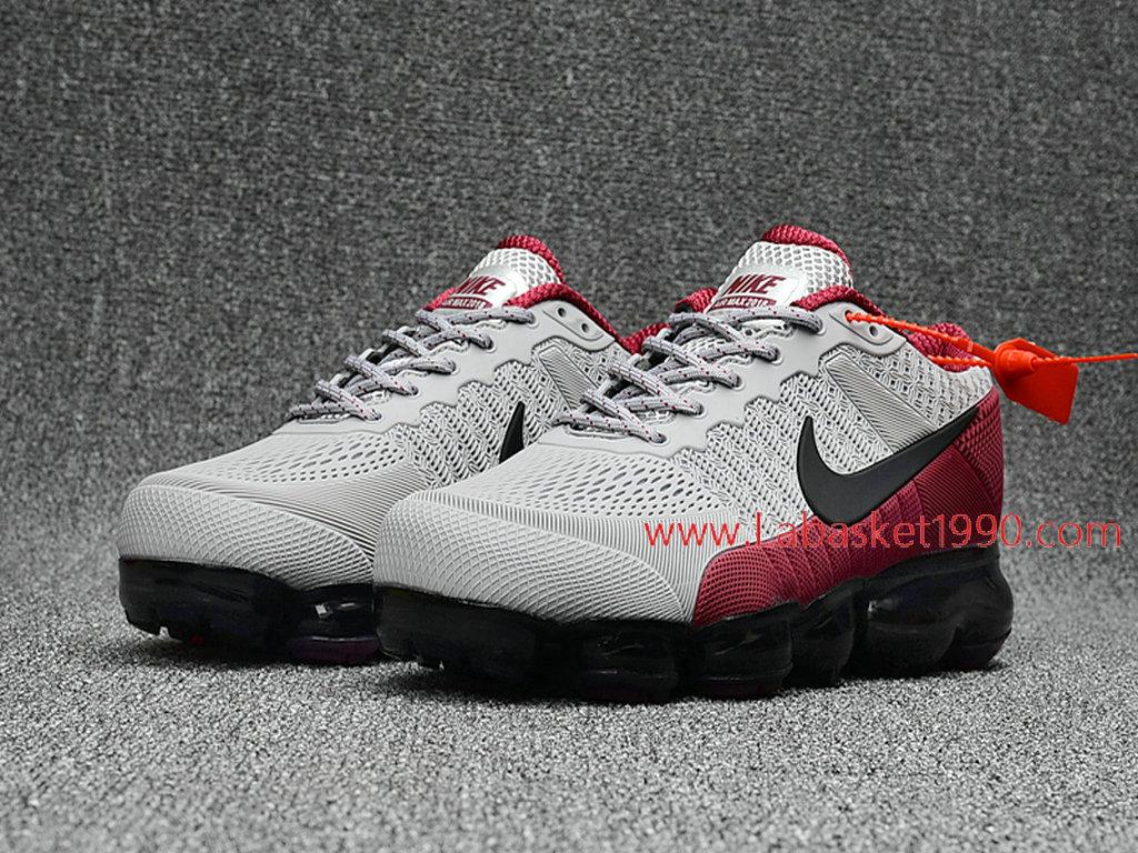 Officiel Nike Air Max 2018 Chaussures Nike VaporMax Pas Cher Pour Homme Gris Rouge 1803291291 Chaussure Basket Homme Nike | Nike Officiel Site!