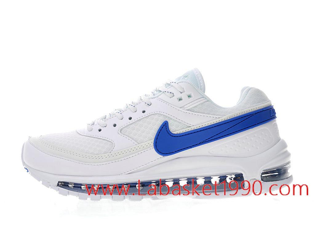 wholesale dealer cd2b2 19ecd Skepta x Nike Air Max 97 BW AO2113-100 Chaussures Nike 2018 Pas Cher Pour