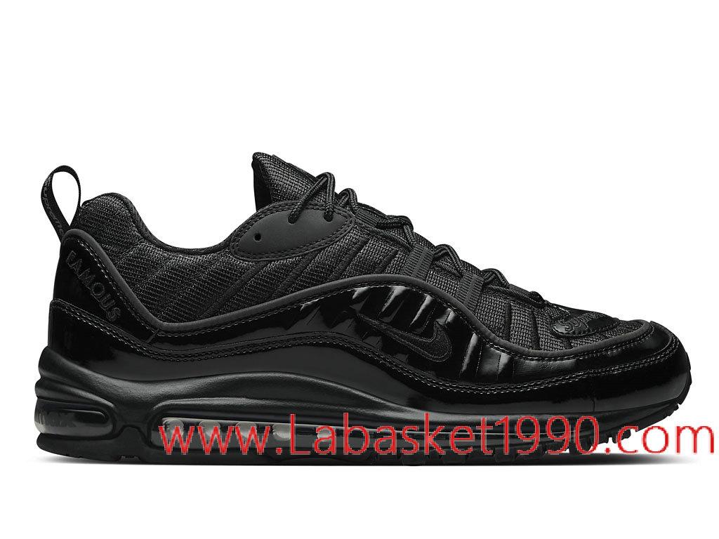 Supreme x Nike Air Max 98 Sail Snake 844694_100 Chaussures